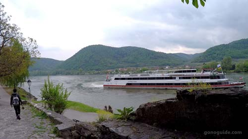 แม่น้ำ Danube ที่ Duernstein