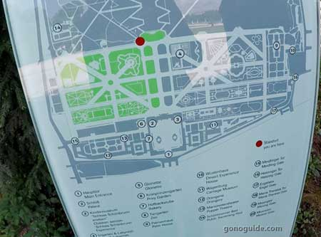 แผนผัง Schoenbrunn palace