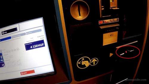 ตู้ขายตั๋วรถไฟ ที่ Népliget